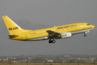 D-AGEN. B-737/700. Hapag Lloyd Express. PMI.