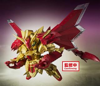 BANPRESTO 景品「SD鋼彈 煌極舞創 超越之龍」明年 01 月登場!