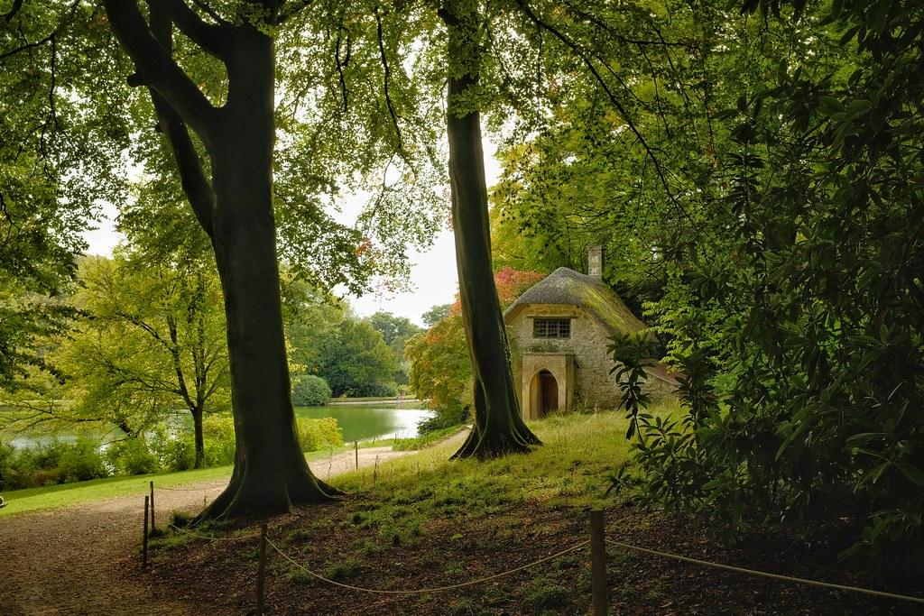 The Gothic Cottage, Stourhead, Wiltshire.