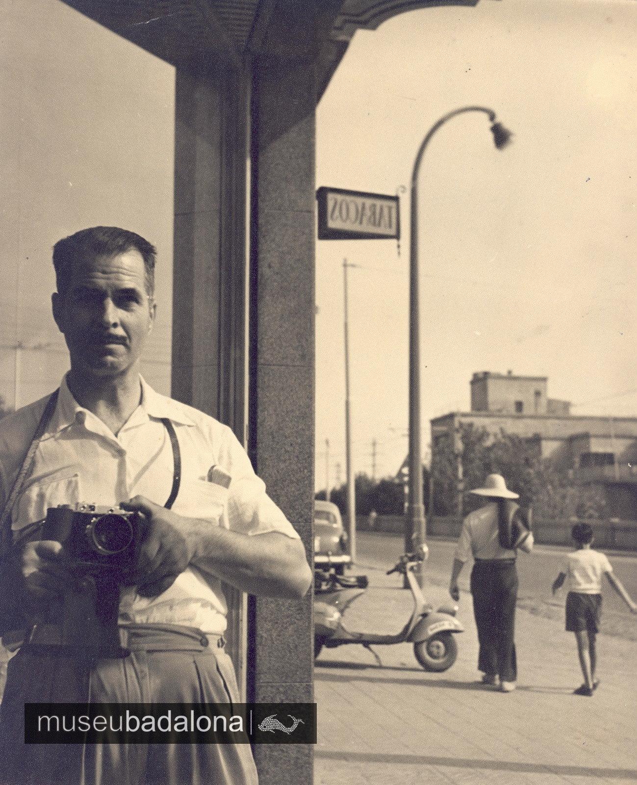 El fotògraf Josep Cortinas Suñol