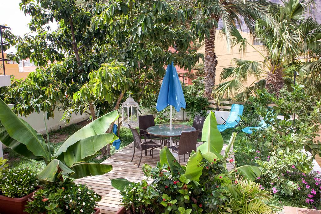 Jardín particular en Valle Gran Rey en La Gomera