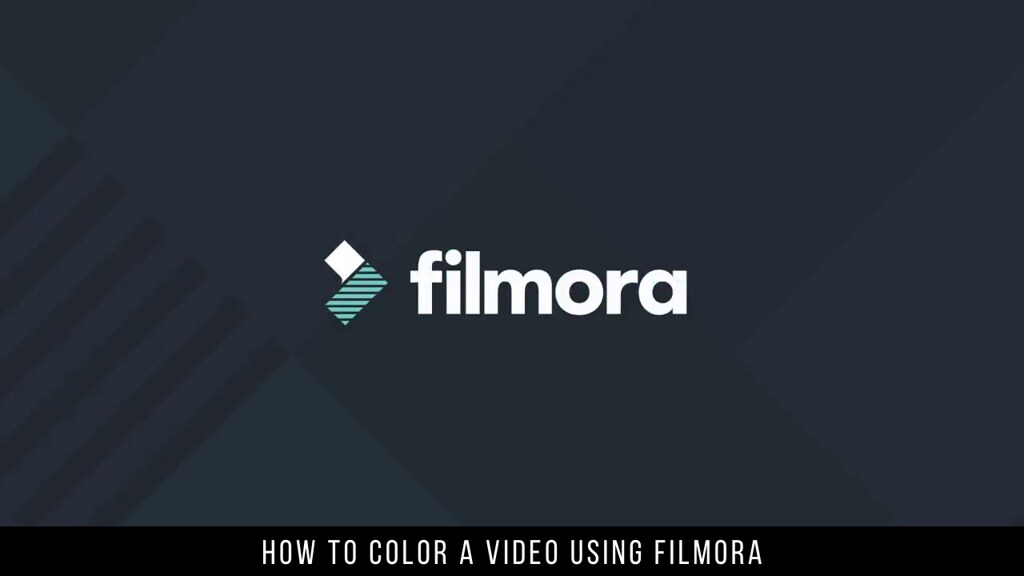 How to Color a Video Using Filmora