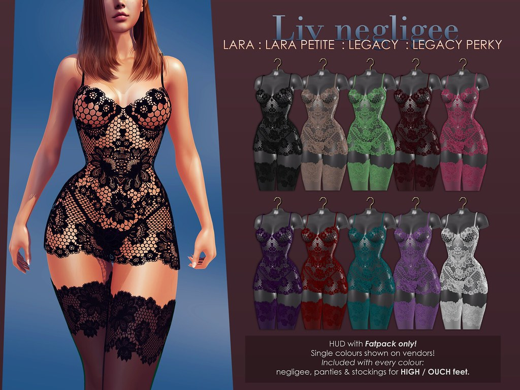 Liv negligee + GIVEAWAY