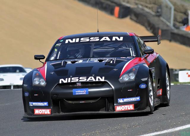 Nissan Nismo GT1 GT-R R35 Demo Brands Hatch