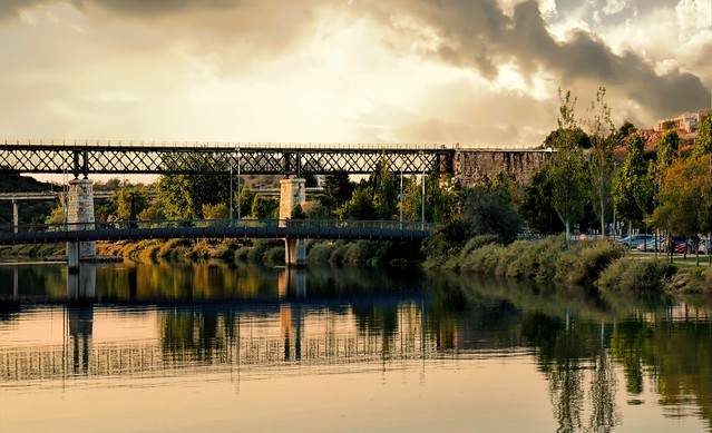Bridge over Gilão river
