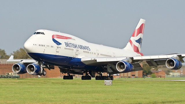 Boeing 747 -436 G-CIVE British Airways