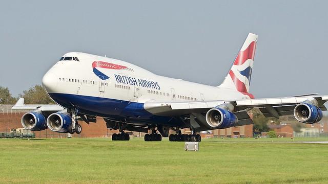 Boeing 747 -436 G-CIVE British Airways