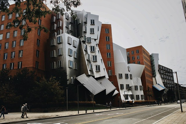 MIT and it's funny looking buildings