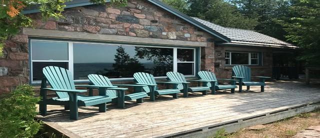 Awenda - Stone Cottage - Deck