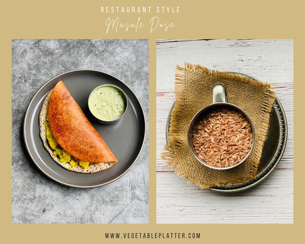 Restaurant Style Masale Dose