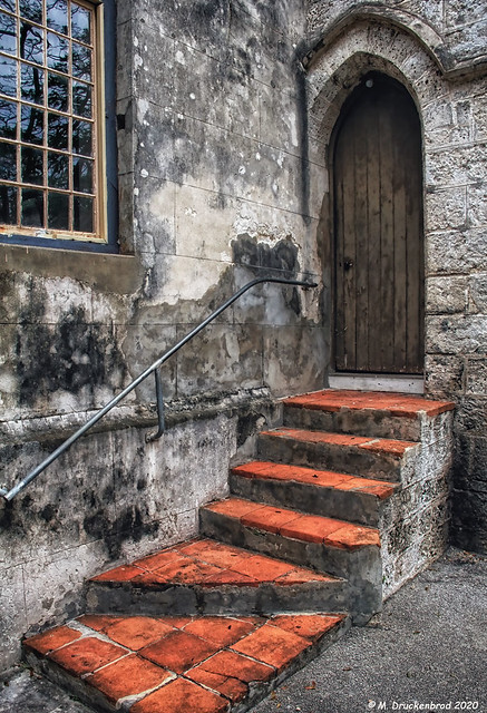 A Side Entrance, St. John Parish Church, Barbados
