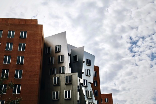 Clouds over the Stata Center