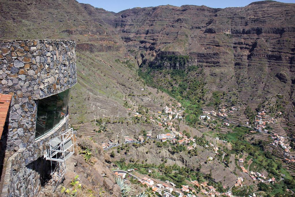 Mirador Palmarejo en La Gomera