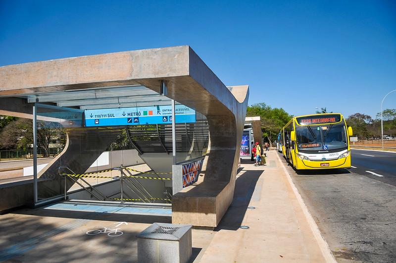 Inauguração das Estações do Metrô 106 e 110 Sul