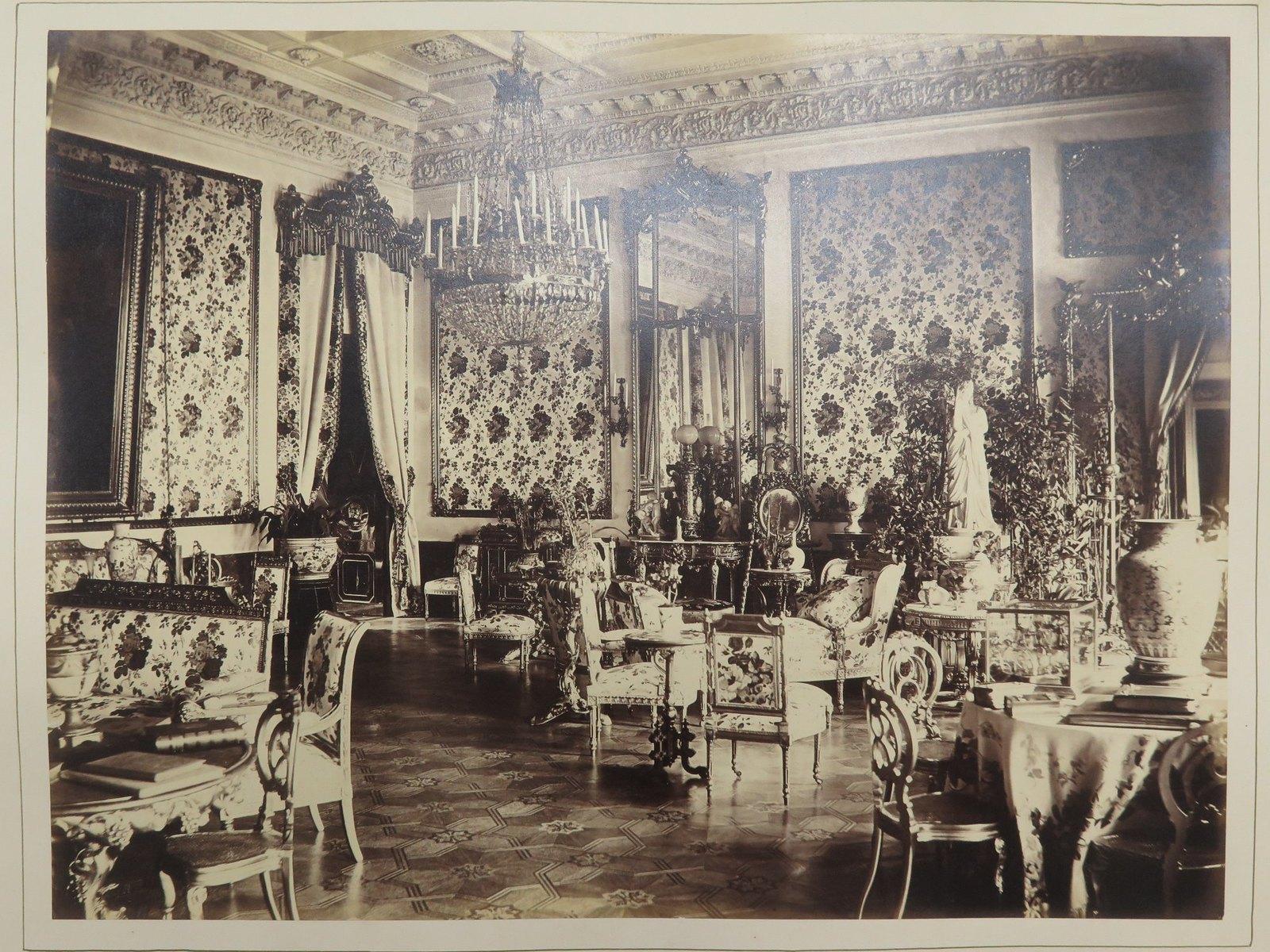 Строгановский дворец. Большая гостиная
