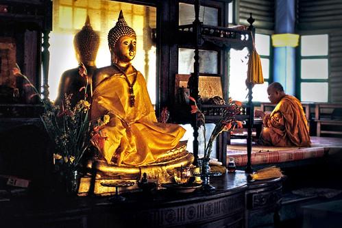 Inside Wat Chayamangkalaram