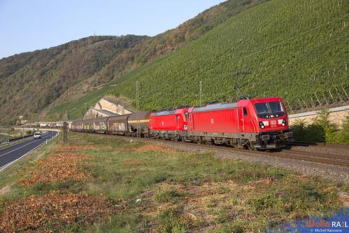 187 174 + 193 319 . DB Cargo . 51843 . Boppard . 11.09.20.