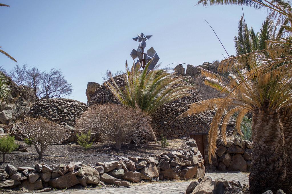 Mirador Palmarejo de César Manrique en Valle Gran Rey