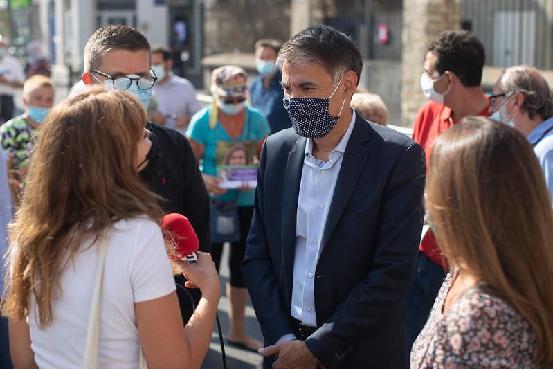 2020-09-16 - Déplacement Olivier Faure pour soutenir Isabelle Santiago à Alfortville-8