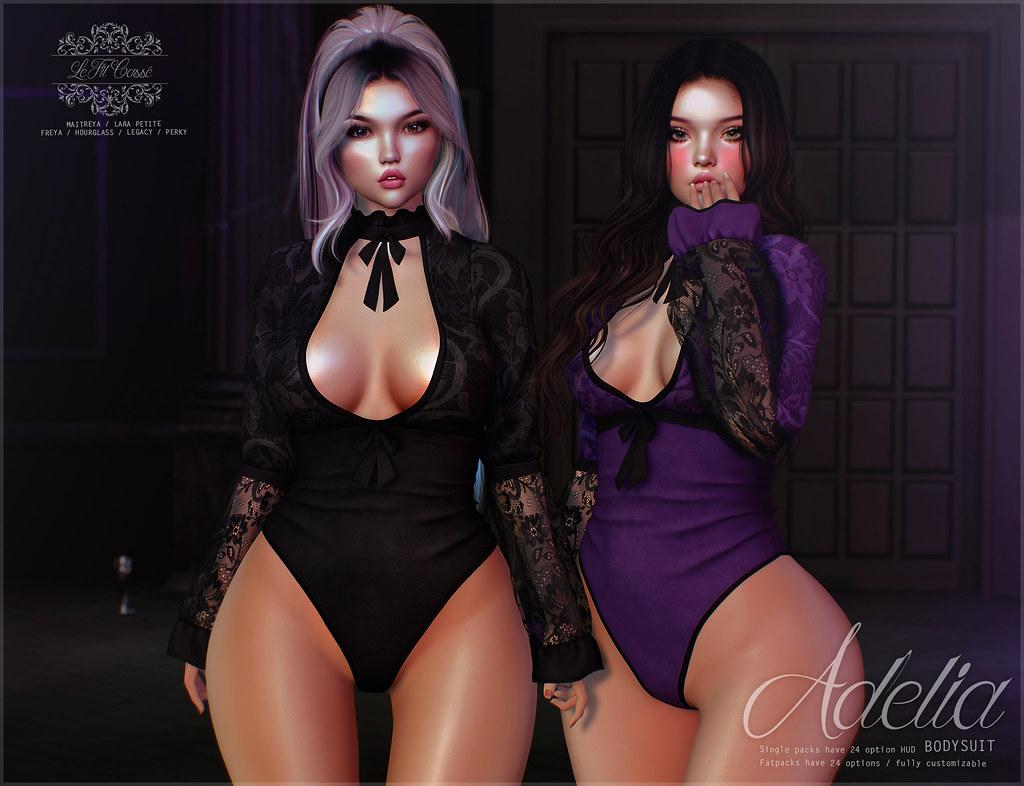 {le fil cassé} Adelia Bodysuit for Kustom9!