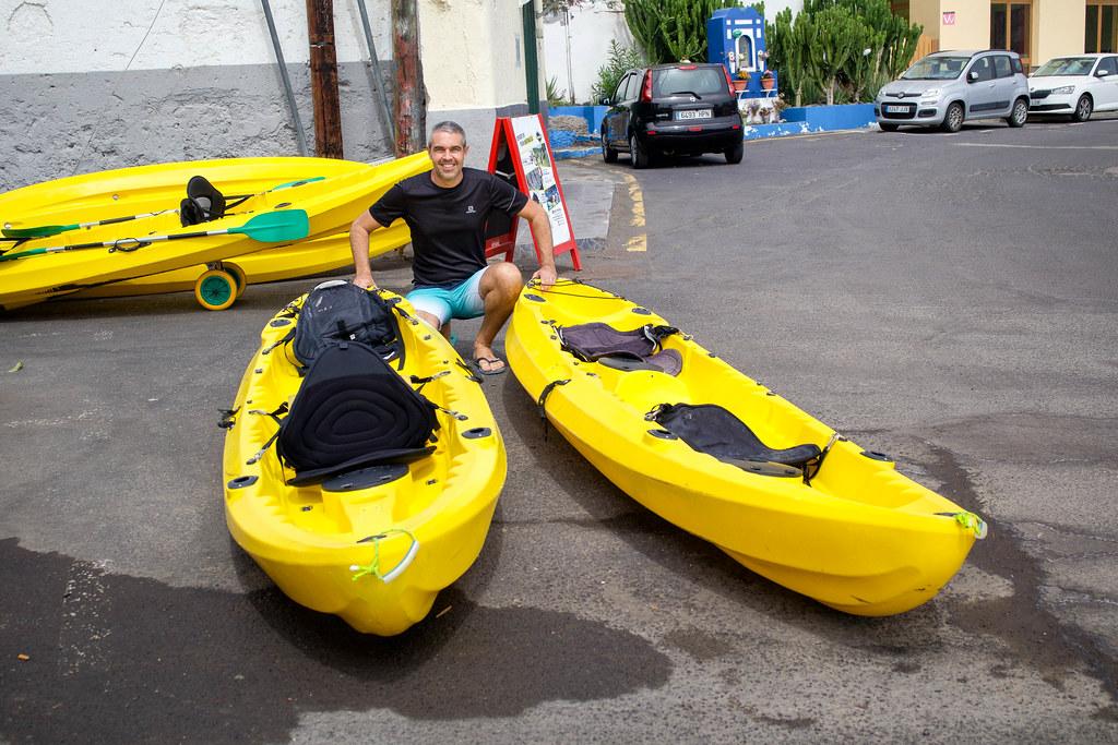 Kayak en Valle Gran Rey