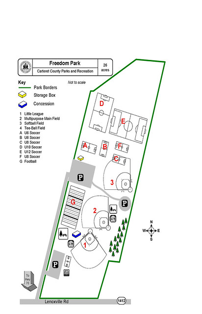 Freedom Park Map
