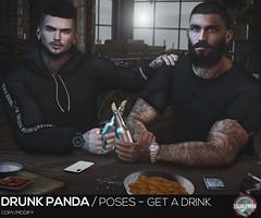 Drunk Panda - GetADrink