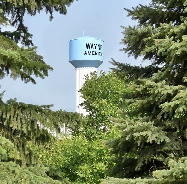 Wayne America watertower