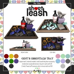 .:Short Leash:. Gent's Essentials Tray