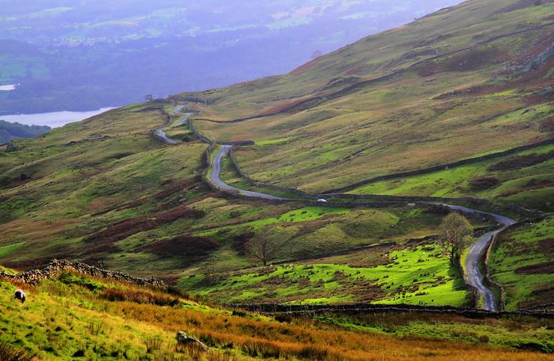 The Struggle Ambleside Lake District