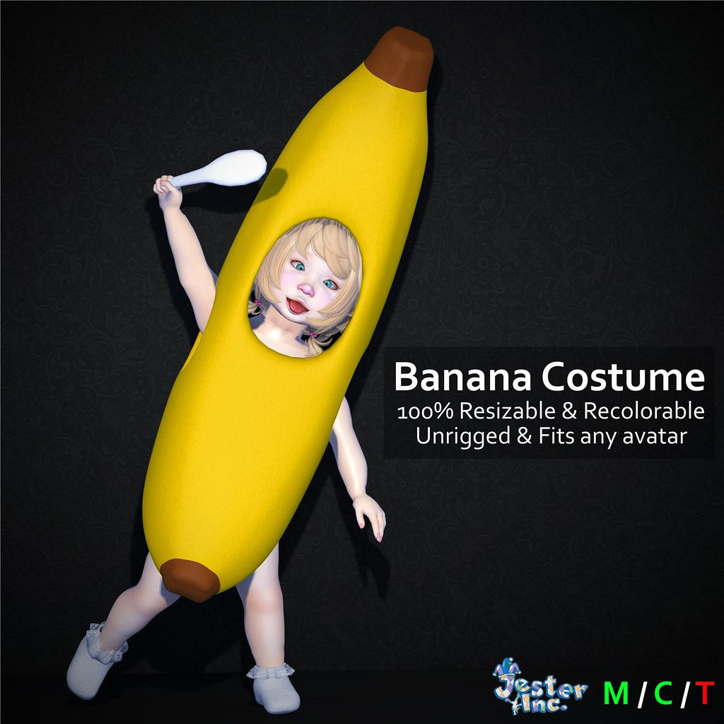 Presenting the new Banana Costume from Jester Inc.