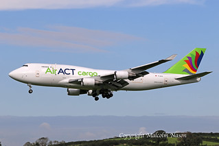 B747-481SF TC-ACG AIR ACT CARGO