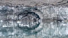The eye in the glacier