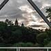 catedrales desde pasarela, nublado