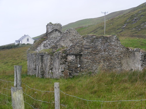 Ruined cottage, Clare Island