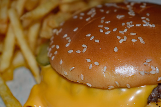 Quarter Pounder And French Fries.