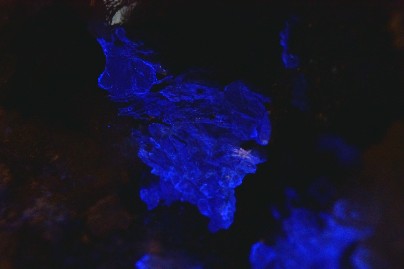 片山石 / Katayamalite(短波紫外線照射)