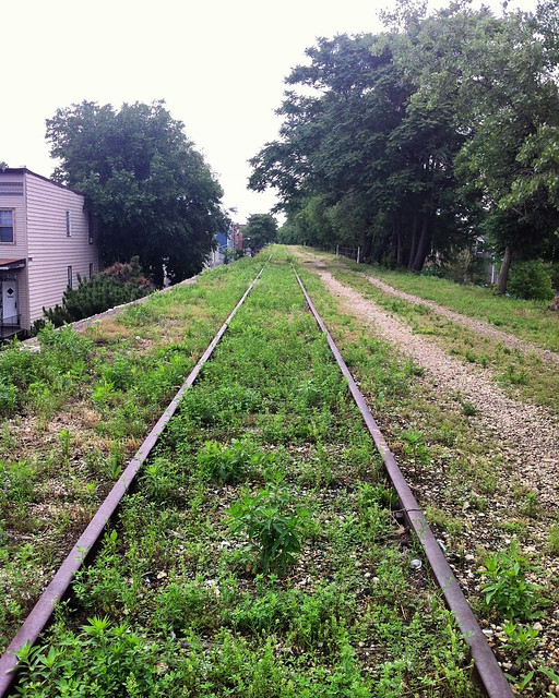 July 2015, prior to the 606 this was the Bloomingdale Trail.