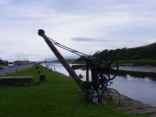 Westport Quay old crane