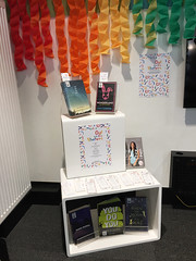 Out on the Shelves Display at Lyttelton Library