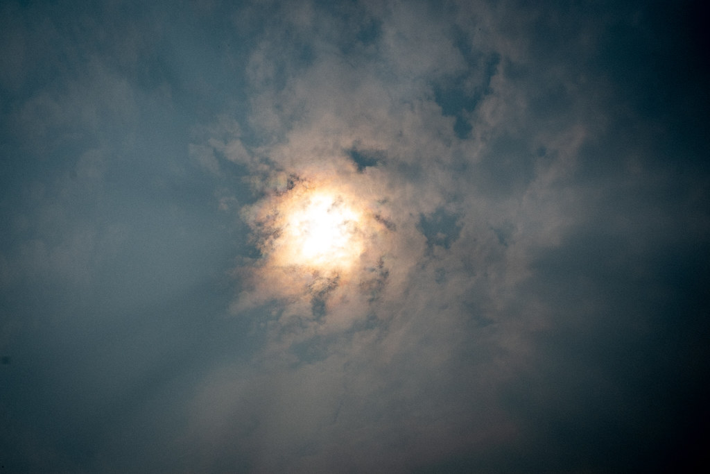 The Sun through the Smoke