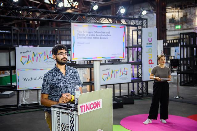 TINCON auf dem re:publica Campus (Wechsel:Wirkung)