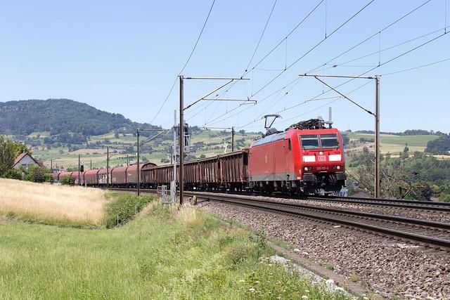 DB Cargo 185 113 Frick
