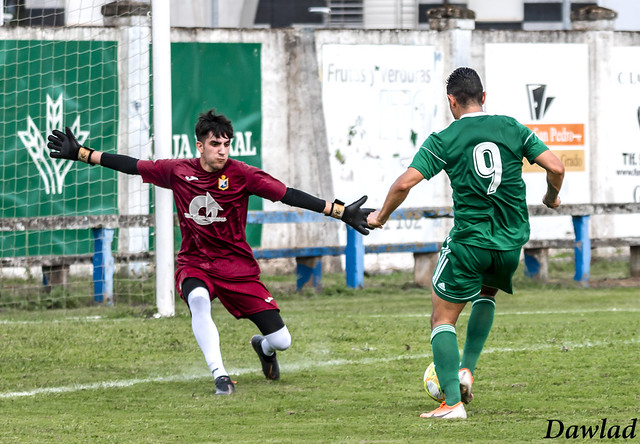 Remate a gol de Steven Prieto