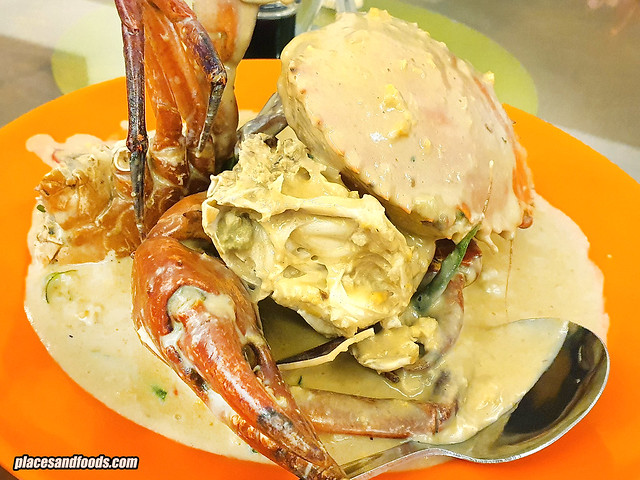 seremban butter crab style