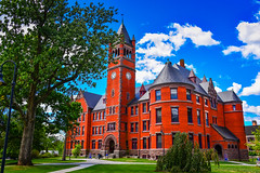 Glatfelter Hall and Clock Tower at Gettysburg College - Gettysburg PA