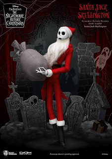 野獸國 DAH系列《聖誕夜驚魂》傑克·史克林頓 聖誕服裝款 1/9比例可動人偶