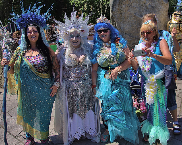 A Mermaid Costume Party
