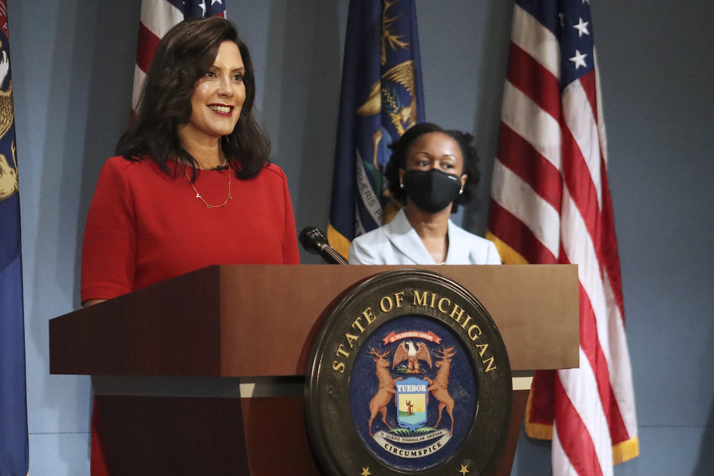 Michigan Gov. Gretchen Whitmer Provides COVID-19 Update