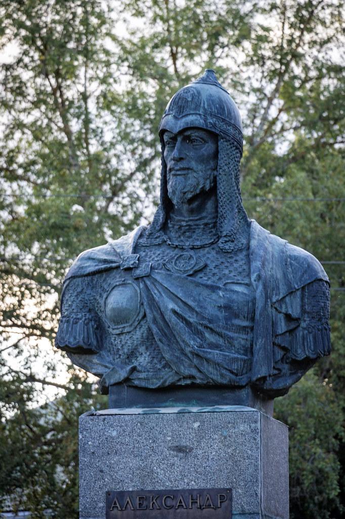 Alexander Nevsky monument